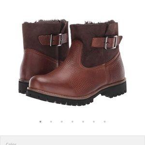 Blackstone- OL06 Shearling brown boots